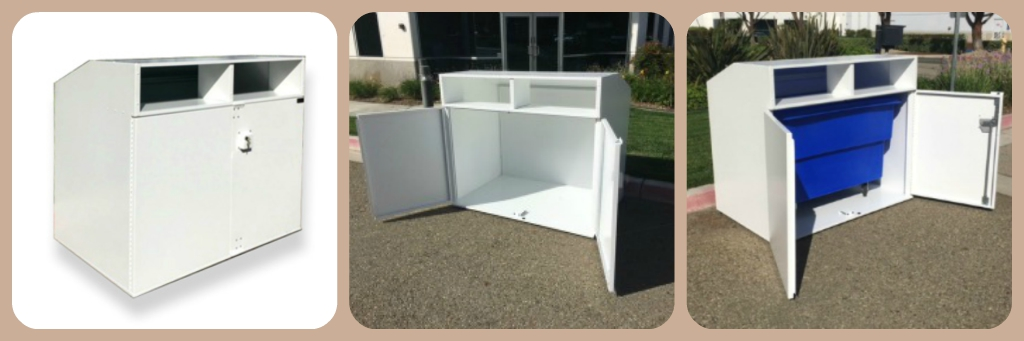 Clothing Collection Bin, Indoor - CB21G18